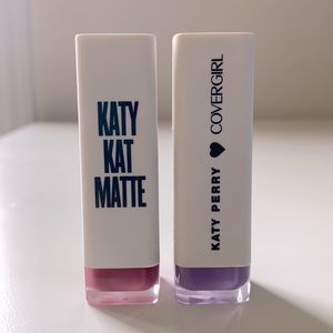 COVERGIRL - Katy Kat Matte Lipstick - set of 2
